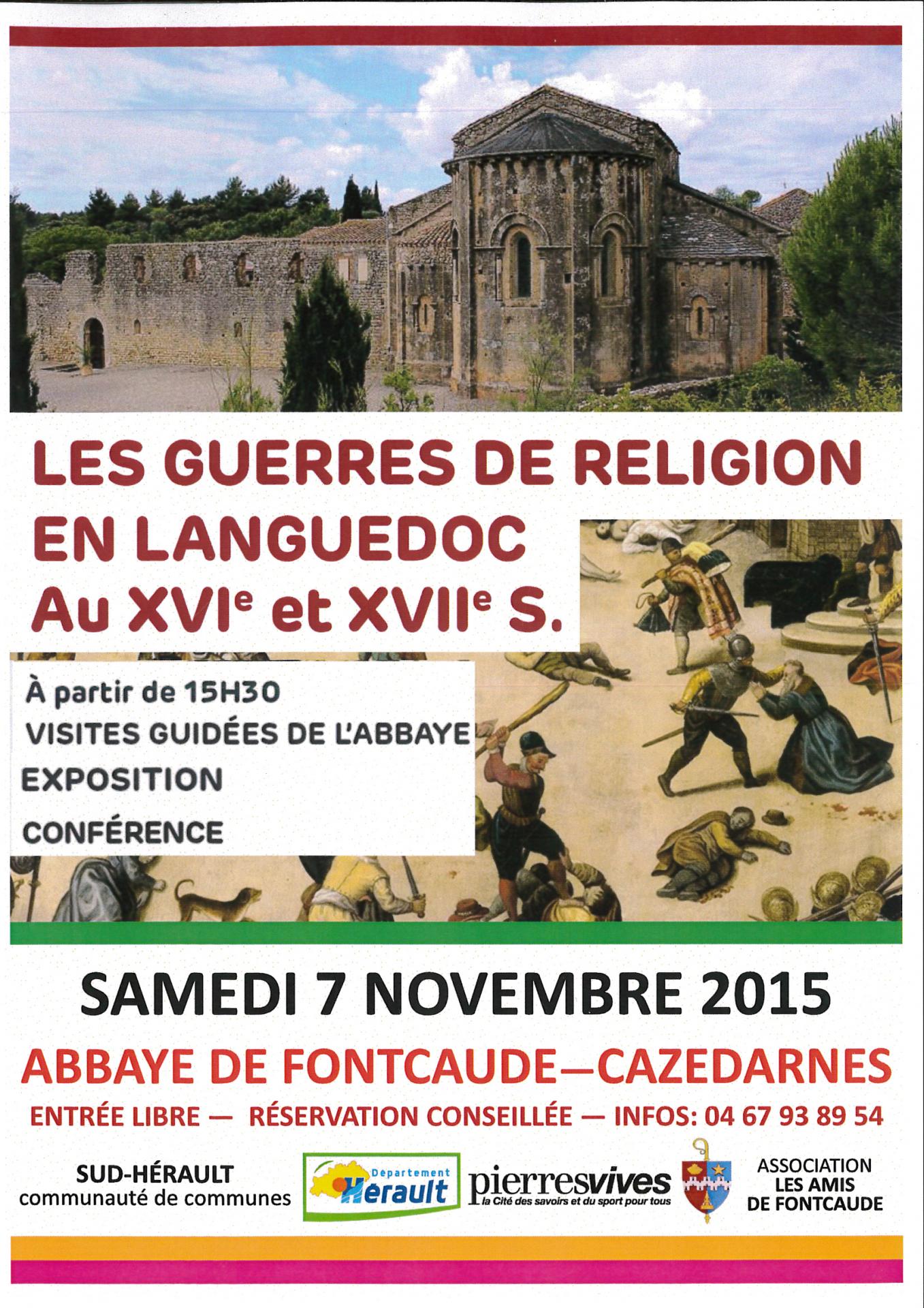 2015 11 07 conference abbaye de fontcaude