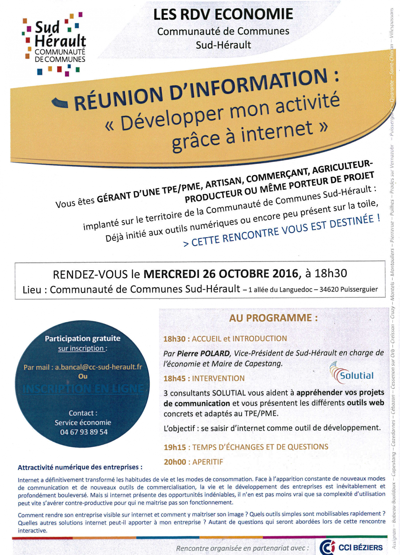 2016 10 26 reunion developper son activite grace a internet