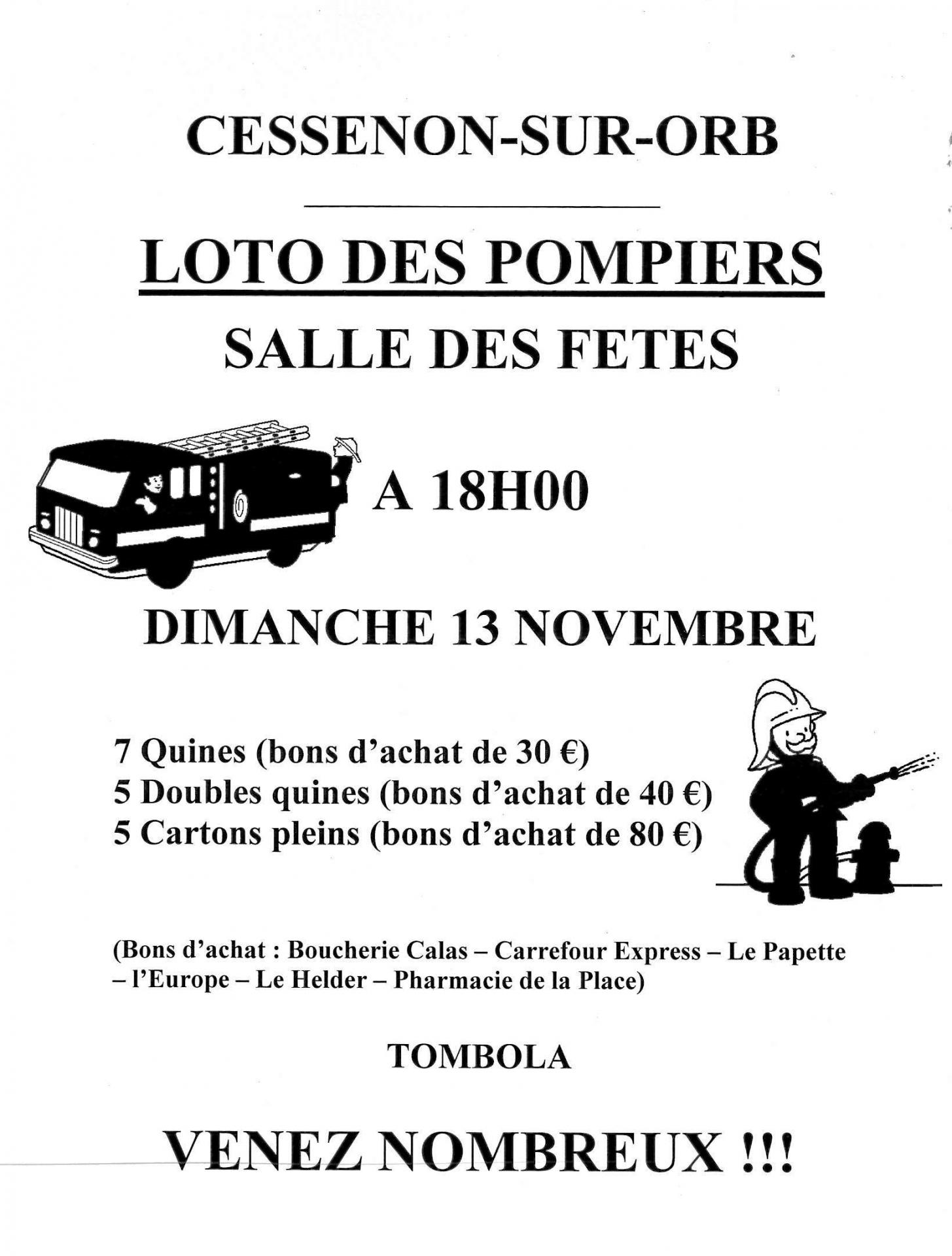 2016 11 13 loto des pompiers