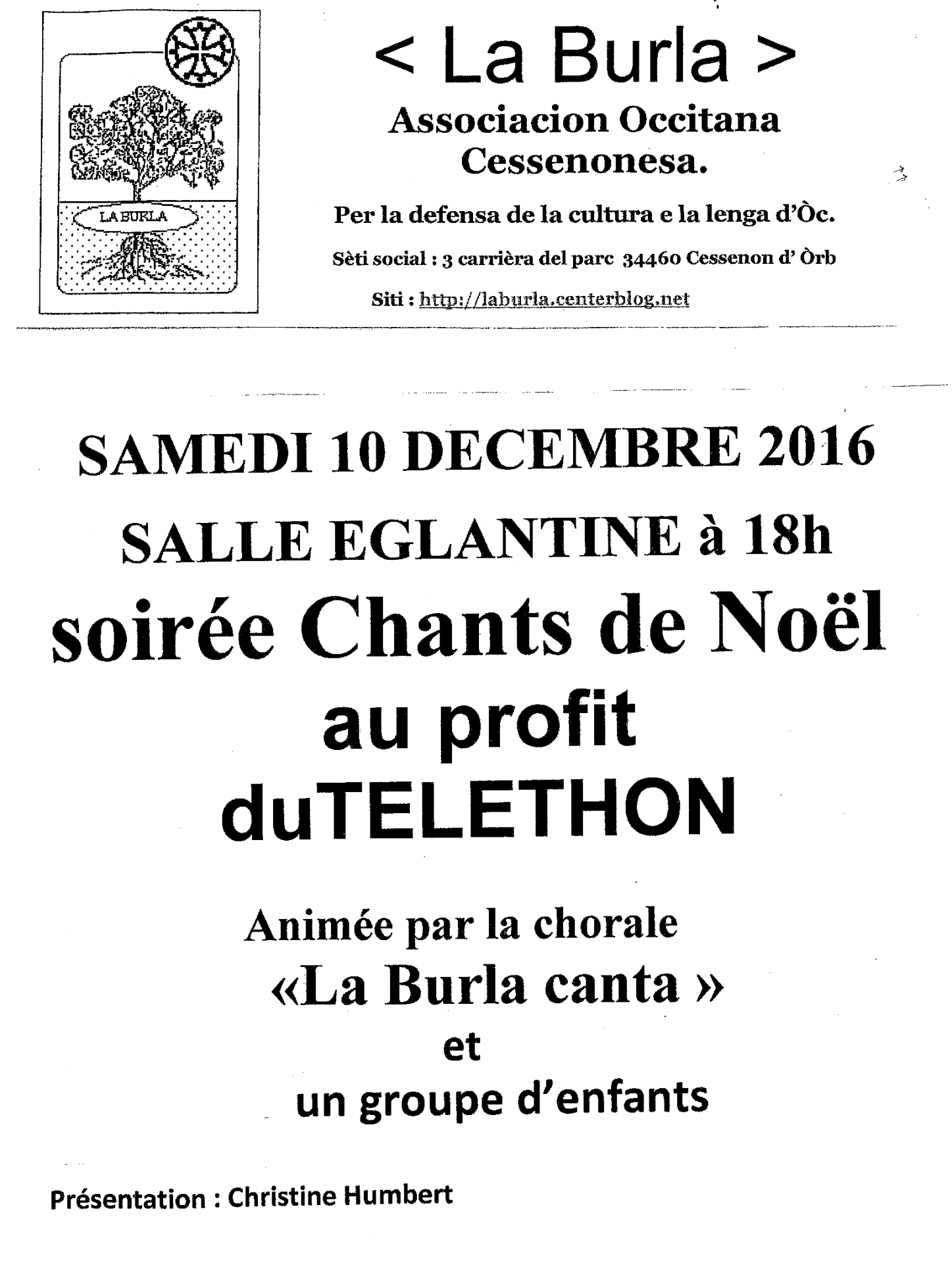 2016 12 10 soiree chants de noel