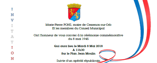 2018 05 08 ceremonie 8 mai 2018
