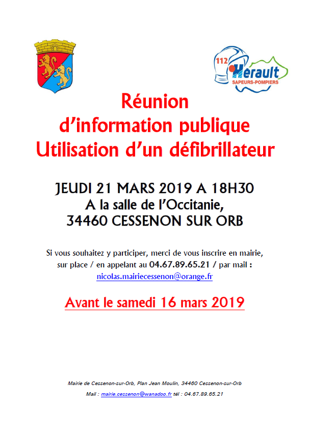 2019 03 21 reunion defibrillateur