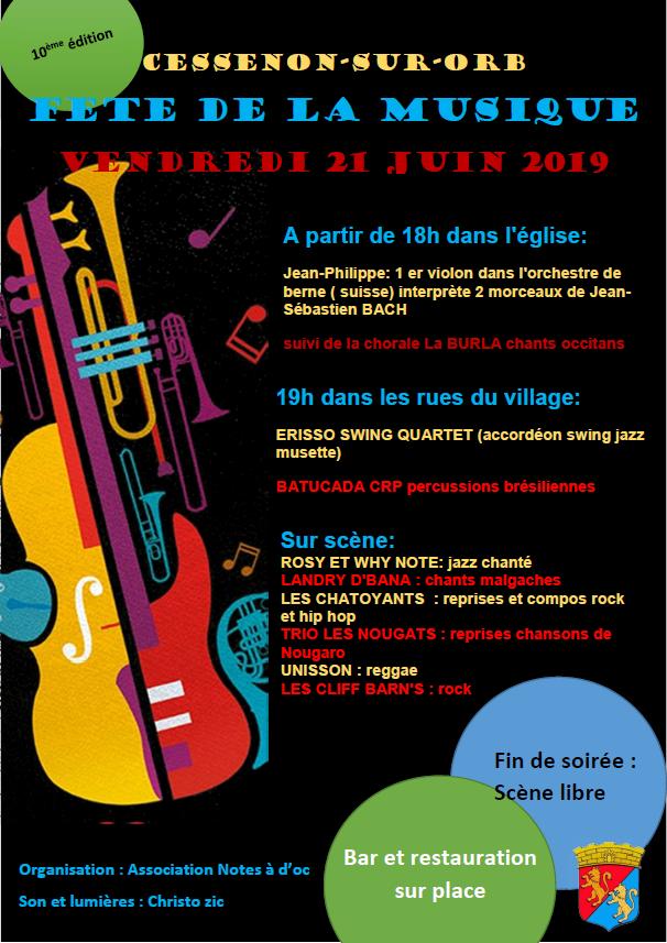 2019 06 21 10eme edition fete musique