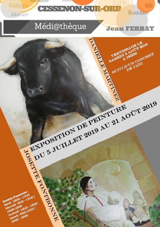 2019 07 05 exposition peinture fontbonne martinez 1