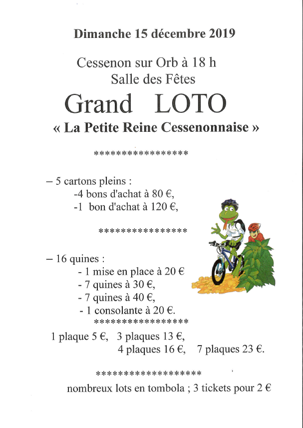 2019 12 15 loto petite reine