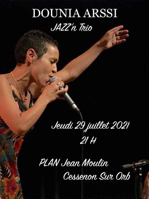 Trio jazz affiche
